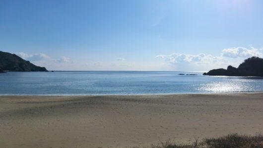 大浜海岸の景色