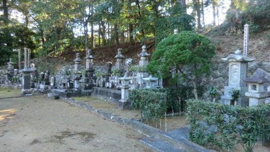 薬王寺の古いお墓