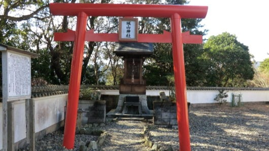 日和佐城の城山神社