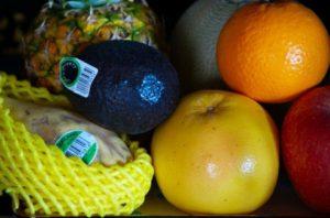 果物のお供え