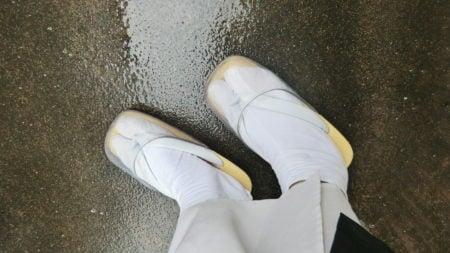 雨の日のお坊さんの履物