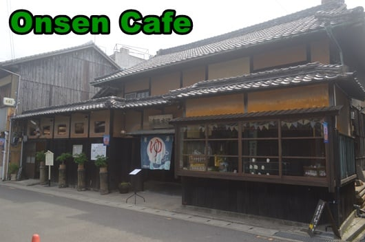 Renovation of an old hot spring into a cafe