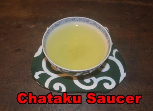 Chataku is a tea bowl saucer.