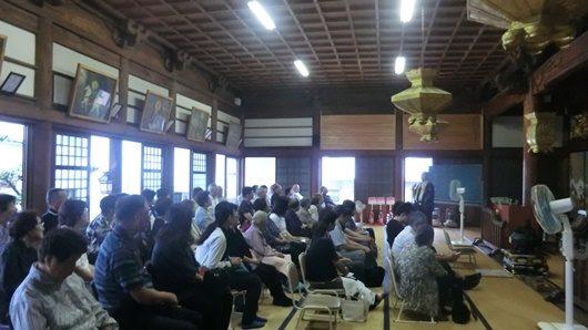 Eitaikyo (永代経): Buddhist memorial service event in my temple