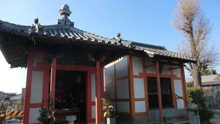 遍照寺の地蔵堂と閻魔堂