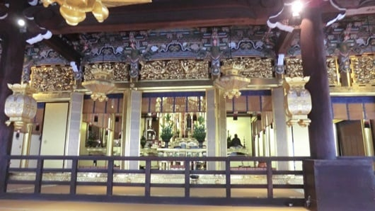 京都興正寺の阿弥陀堂2019年