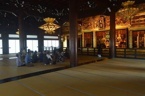 In the Goei-Do koshoji temple