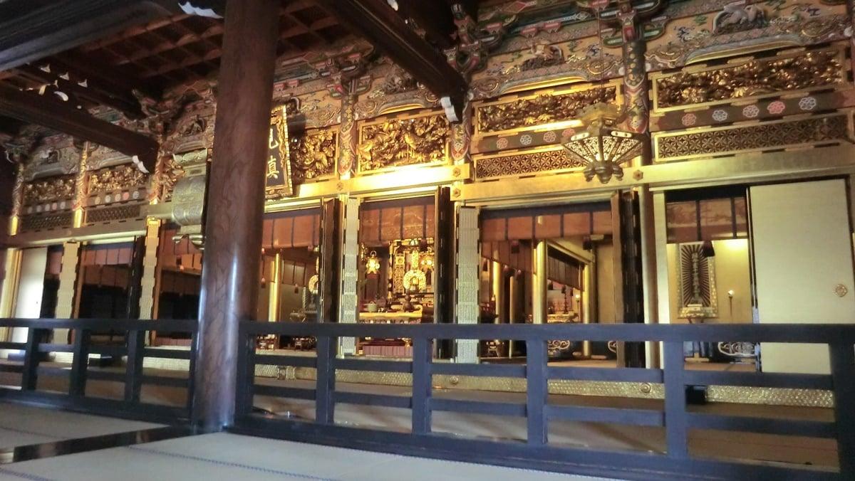 Koshoji temple kyoto Goeido
