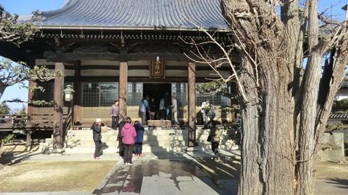 円龍寺への旧正月参り