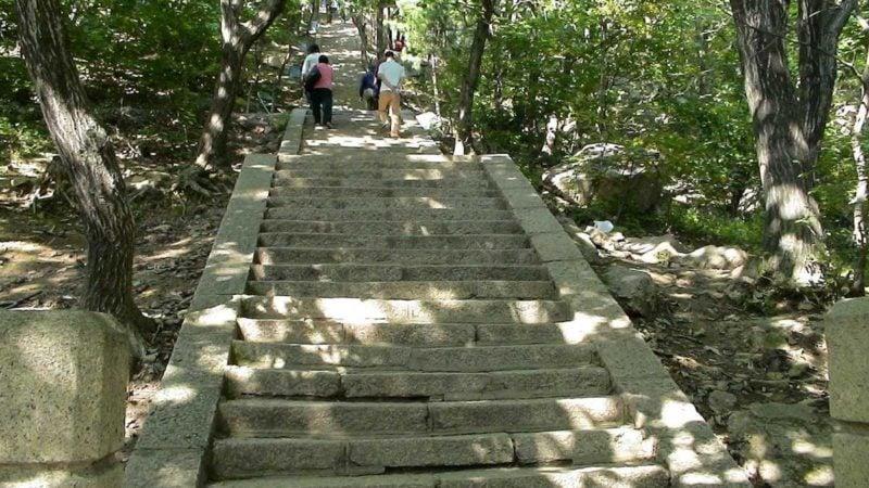 神社やお寺にはなぜ石段があるのだろうか